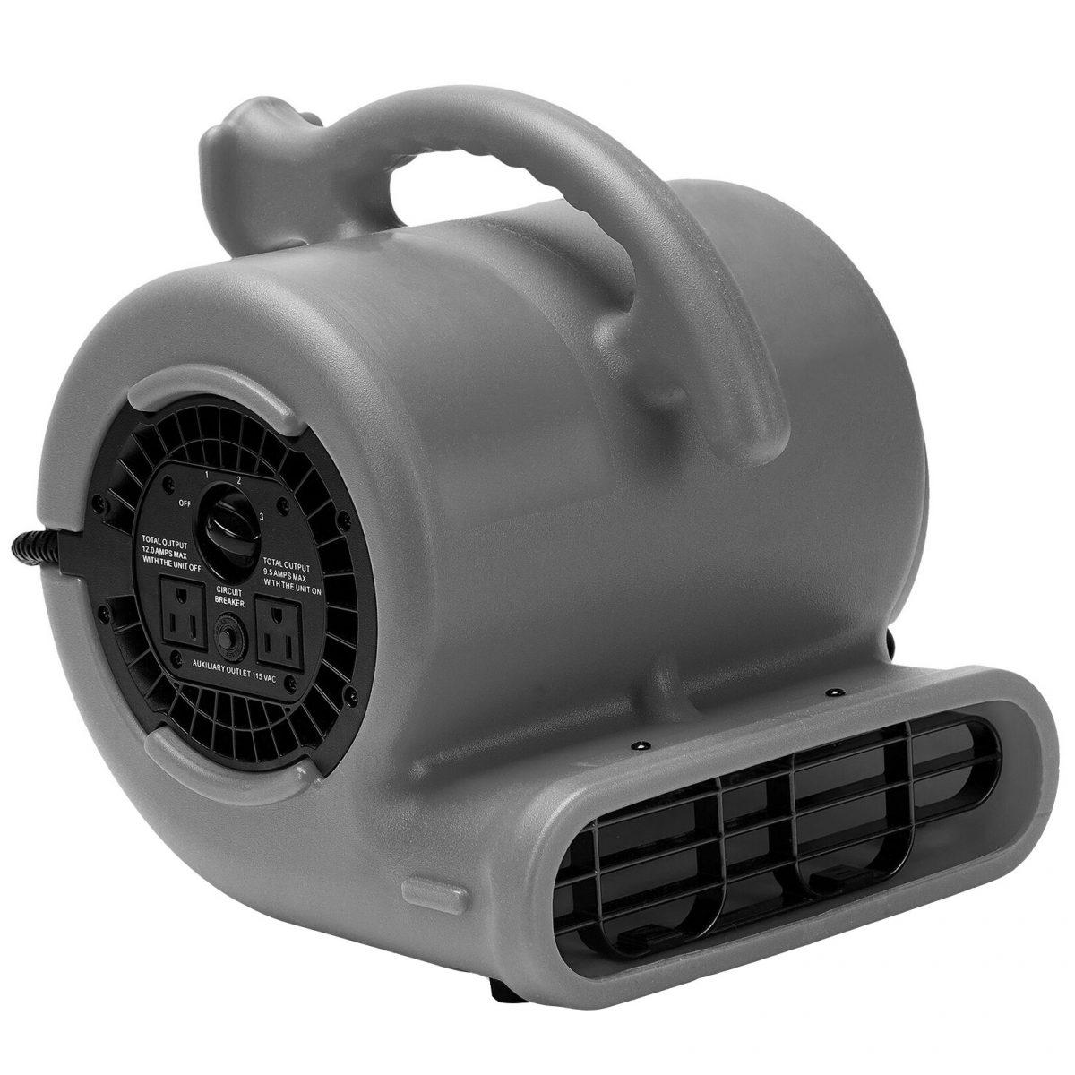 Hawk BVP25D Compact Air Mover Carpet Dryer