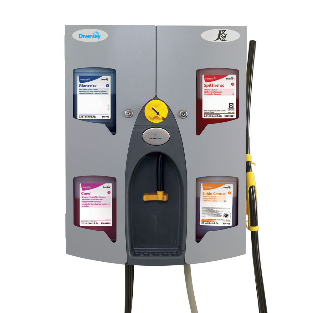 Diversey J-Fill QuattroSelect Dispenser Dispensing System