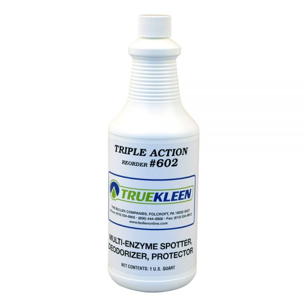 Truekleen Triple Action Multi-Enzyme Spotter, Deodorizer, & Protector