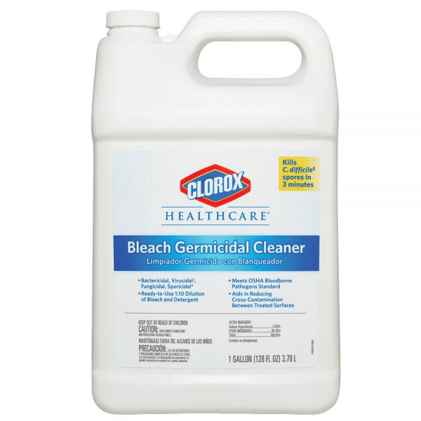 Clorox Healthcare Bleach Germicidal Disinfectant