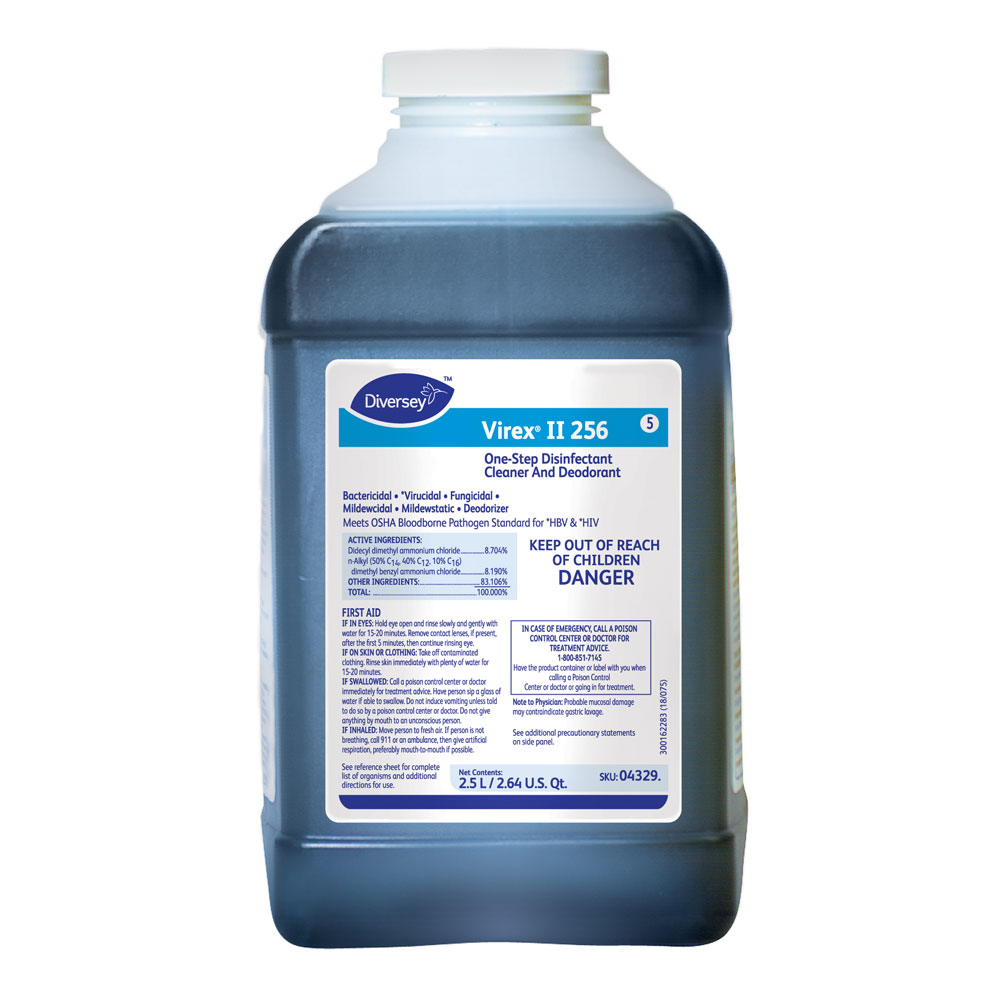 Diversey Virex II 256 Disinfectant Cleaner