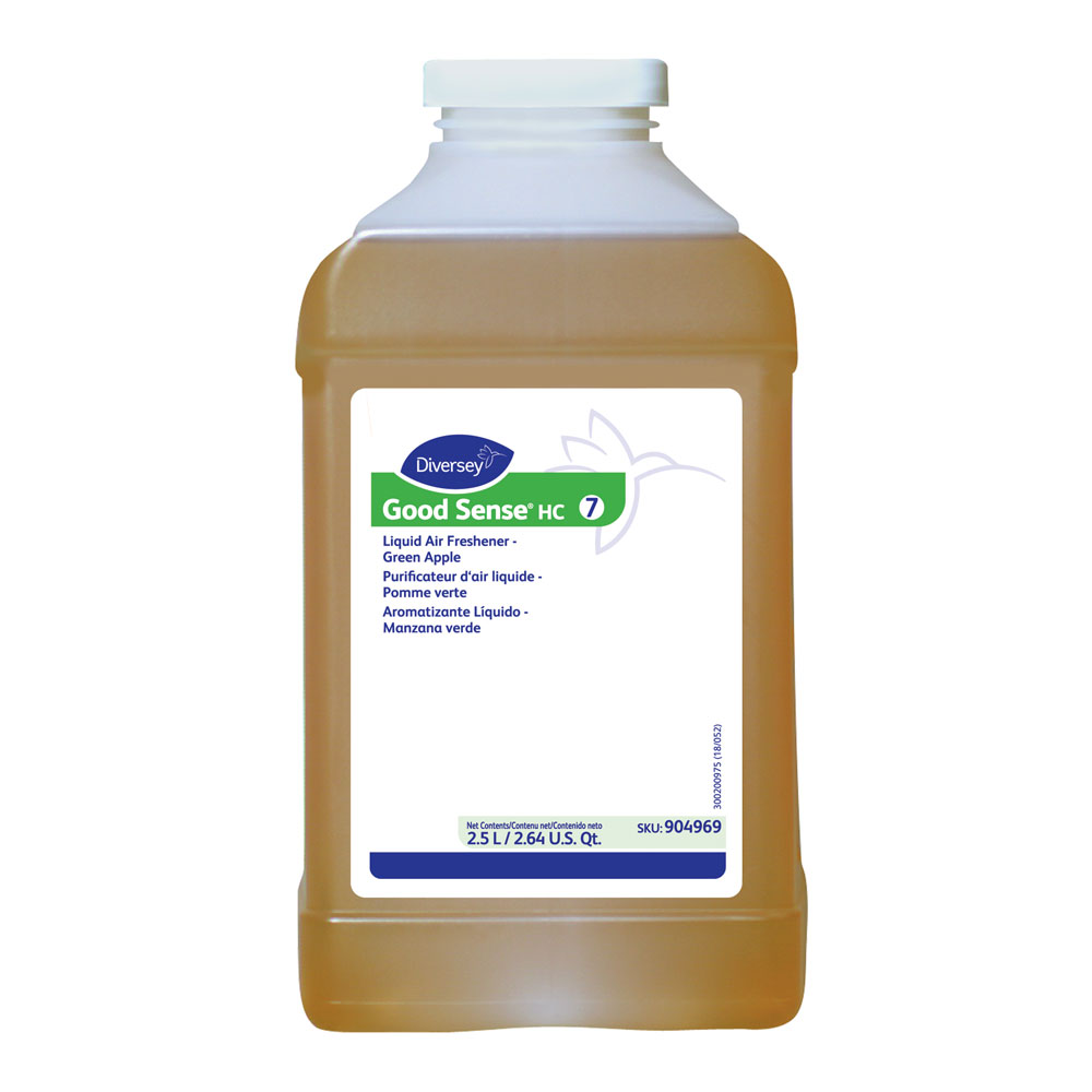 Diversey Good Sense HC Green Apple Liquid Air Freshener