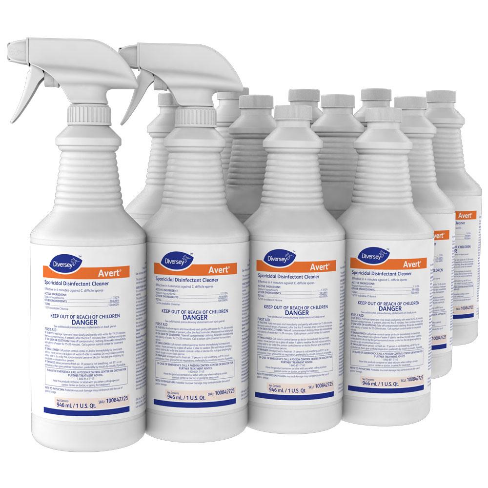 Disversey Avert Sporicidal Disinfectant Cleaner
