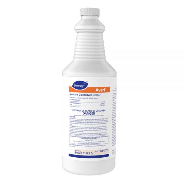 Diversey Avert Sporicidal Disinfectant Cleaner