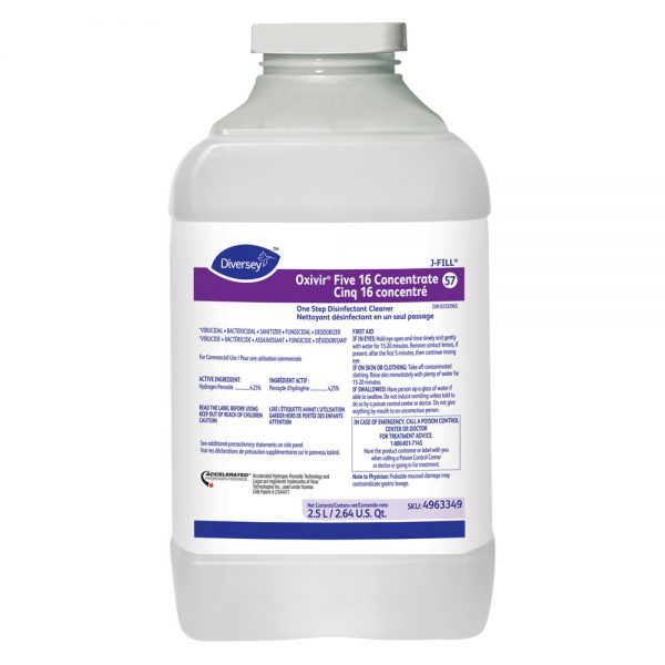 Diversey Oxivir Five 16 Disinfectant Cleaner