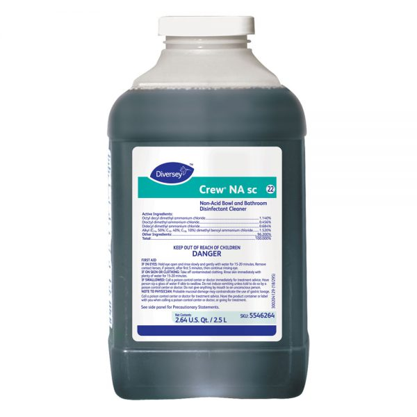 Diversey Crew NA SC Bathroom Disinfectant Cleaner