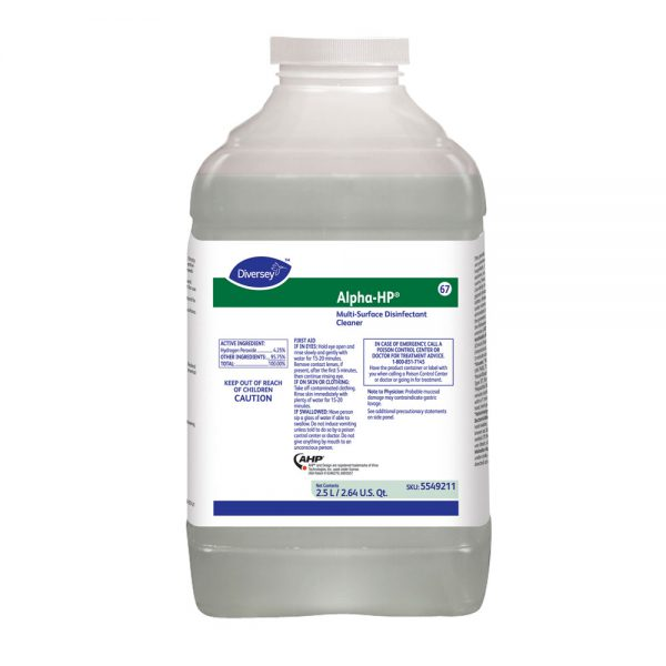 Diversey Alpha-HP Multi-Surface Disinfectant Cleaner