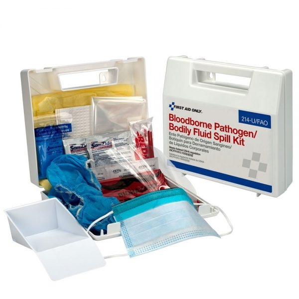 Bloodborne Pathogen & Bodily Fluid Spill Kit