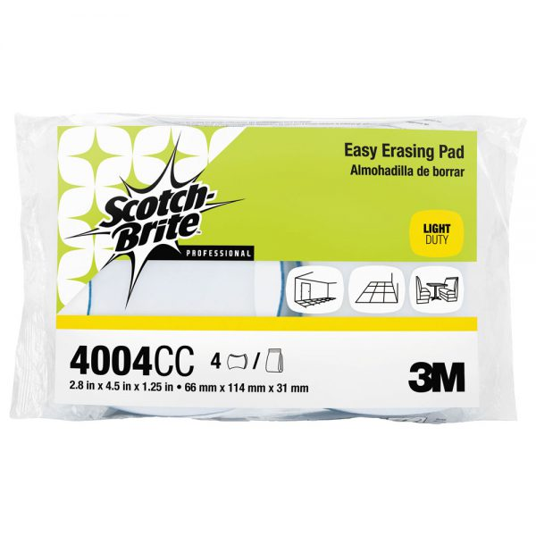 3M Scotch-Brite Easy Erasing Eraser Pads