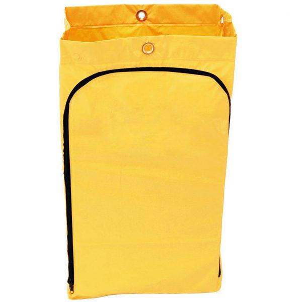 Zippered Vinyl Janitor Cart Bag