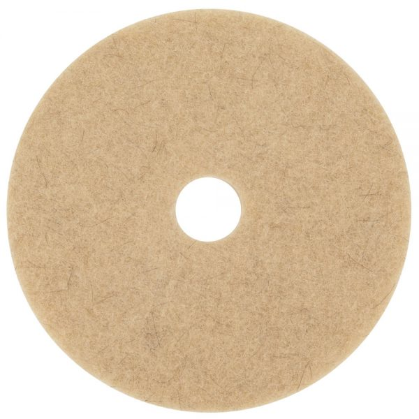 3M 3500 Natural Blend Tan Floor Pads