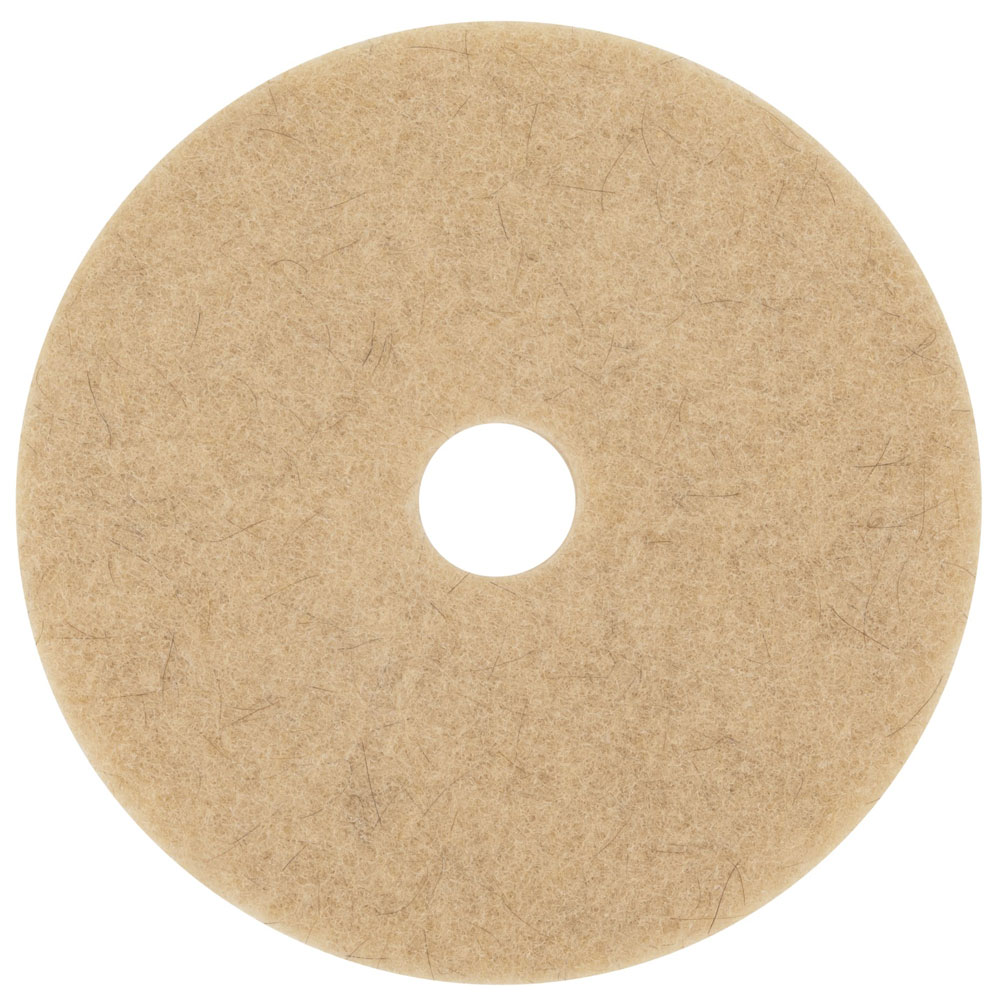 3M 3500 Natural Blend Tan Floor Pads