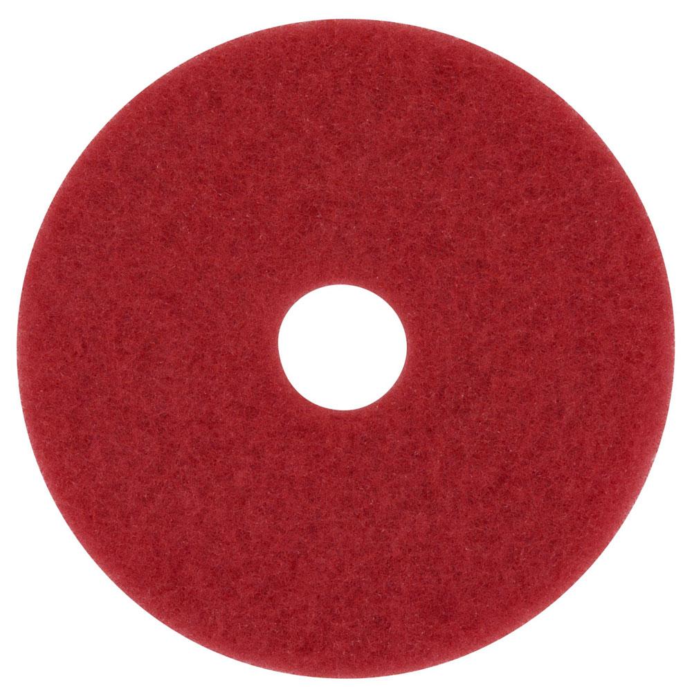 3M 5100 Red Buffer Floor Pads