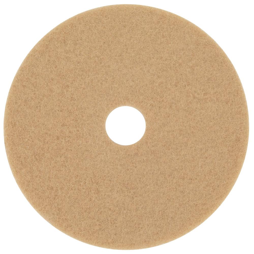 3M 3400 Tan Burnish Floor Pads