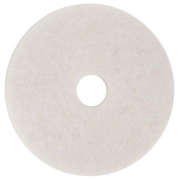 3M 4100 White Super Polish Floor Pads