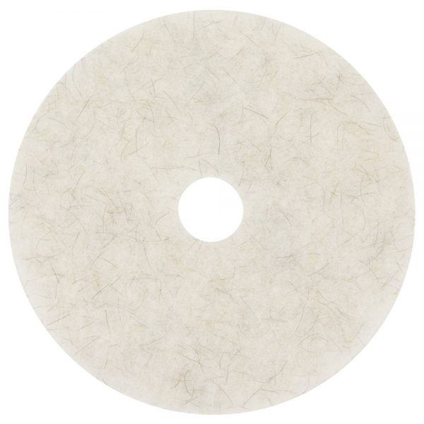 3M 3300 Natural Blend White Floor Pads