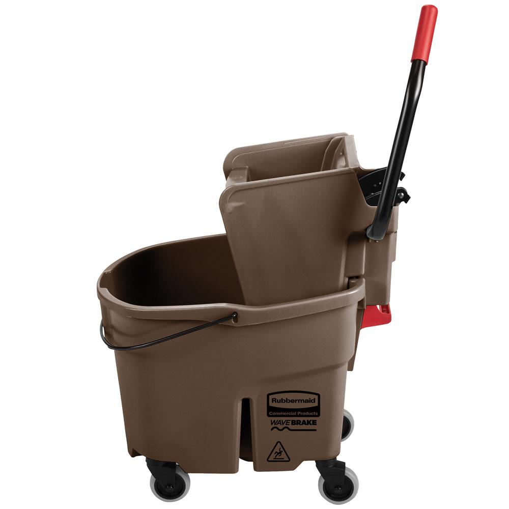 Rubbermaid WaveBrake 35 Qt Bucket & Wringer
