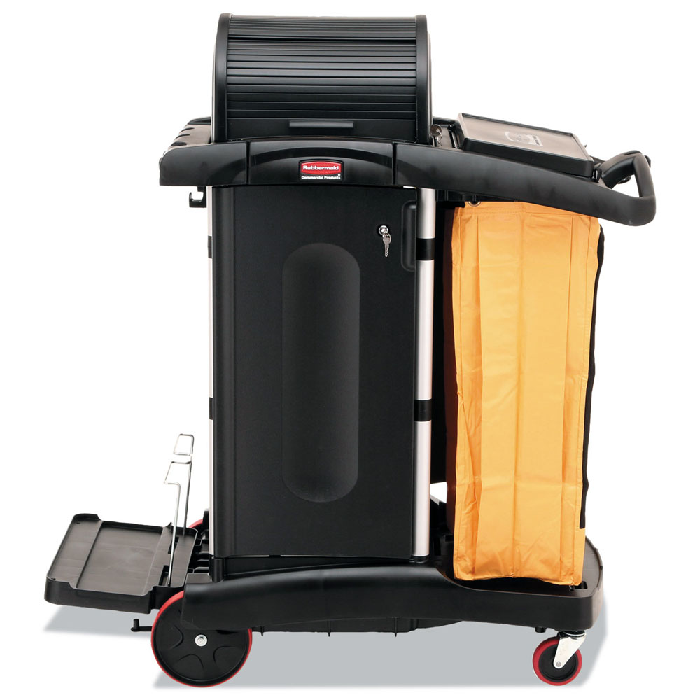 Rubbermaid High Security Janitor Cart