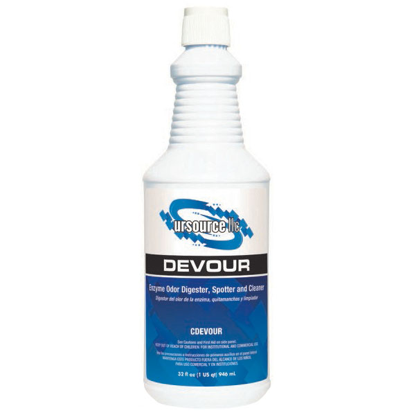 DEVOUR Enzyme Odor Digester & Cleaner