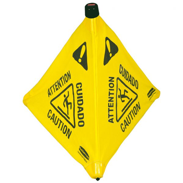 Wet Floor Caution Pop-Up Floor Cone