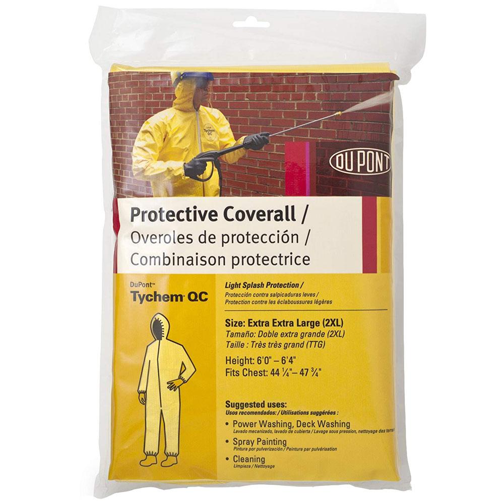 Tychem 2000 QC127S Chemical Resistant Coverall