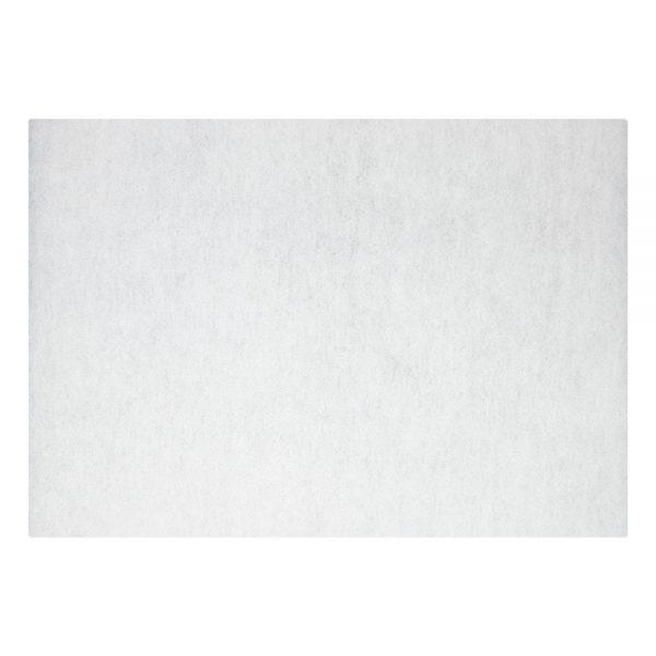 "20"" x 14"" White Polish Floor Pads"