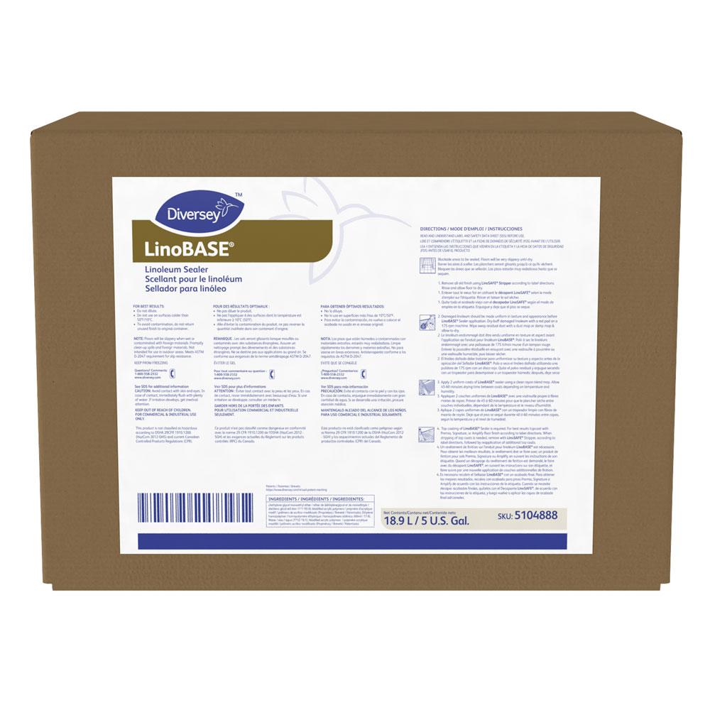Diversey LinoBASE Linoleum Floor Sealer